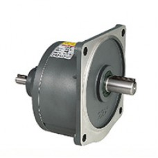 Wanshsin 100W Gvd Vertical Double Axle Type Gear Speed Reducer Servo Motor Oil